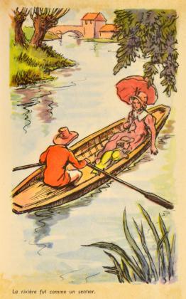 [Félix et Henriette : promenade en toue sur l'Indre]