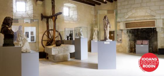 Salle Rodin, musée Balzac, Saché