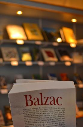 [Livres de la boutique du musée Balzac]