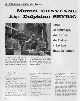 France Touraine 1969 &quotDelphine Seyrig tourne Balzac&quot 2/5