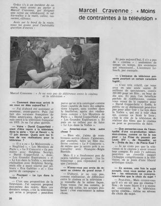 "France Touraine 1969 &quotDelphine Seyrig tourne Balzac"" 4/5"