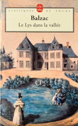 [La comtesse Henriette de Mortsauf et ses enfants devant le château de Clochegourde]