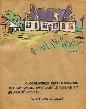 [Le château de Clochegourde]