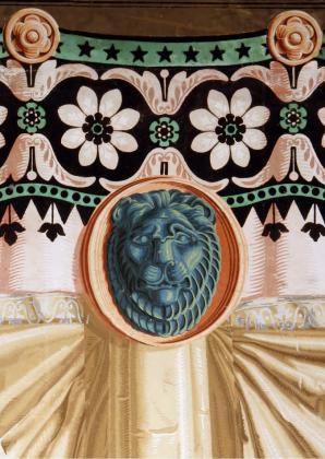 Papier-peint aux lions