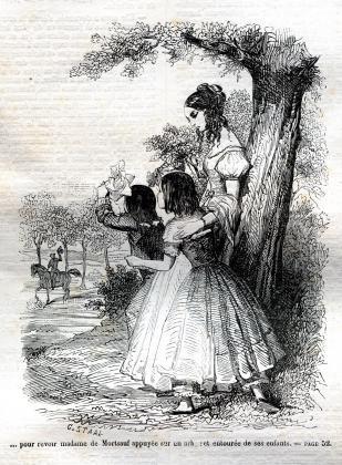 [Henriette, Jacques et Madeleine saluant Félix]