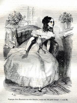 [Henriette de Mortsauf mourante]