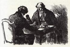 [Félix et le comte de Mortsauf jouant au tric-trac]