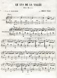 Le Lys de la vallée, polka-mazurke pour le piano (2/3)