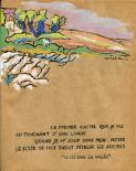 [Le château de Clochegourde depuis les landes de Charlemagne]