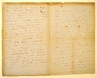 [Lettre d'Honoré de Balzac à la marquise de Castries (1/2)]