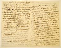 [Lettre du Dr Nacquart à Honoré de Balzac (1/2)]
