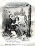 [Jacques, Madeleine et l'abbé de Dominis priant]