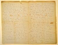 [Lettre d'Honoré de Balzac à la marquise de Castries 2/2]